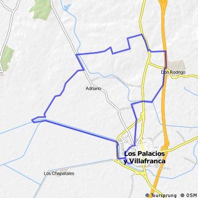 JuanMi  (Los Palacios - Cortijo Bujalmoro - Cortijo S.J,. Hornillo - Los Palacios)