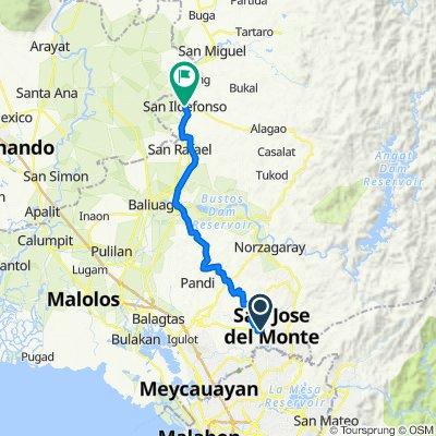 29 Sarmiento Drive, San Jose del Monte City to Cagayan Valley Road, San Ildefonso