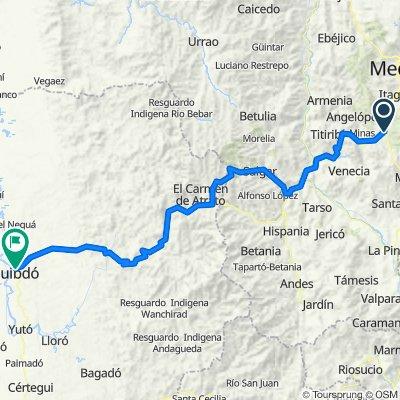 De Carrera 50 146 Sur1370 a Carrera 18 33a1, Quibdó