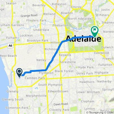 10–10A McCann Avenue, Glenelg North to 120 East Terrace, Adelaide