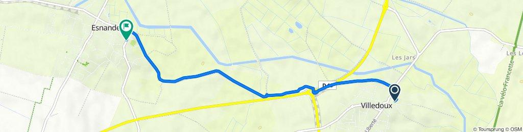 17 Rue de la Paix, Villedoux to 70 Rue de l'Église, Esnandes