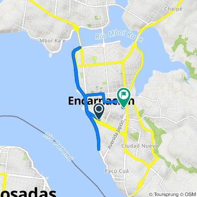 De Paseo de los Teros, Encarnación a Honorio González, Encarnación