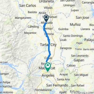 Unnamed Road, Moncada to Manila North Road, Mabalacat