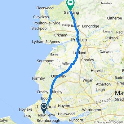 25–99 Clyde St, Birkenhead to 16 Green Lane W, Preston
