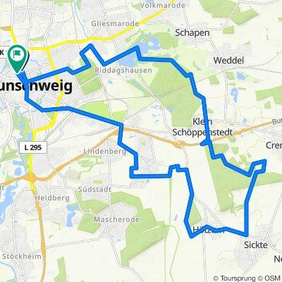Nußberg Herzogberge Rundtour