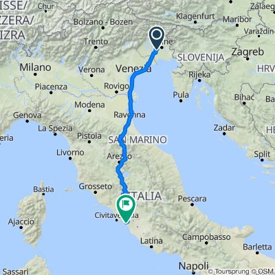 Da Via Galleriano 4/B, Nespoledo a Via Fosso del Nocino, Cerveteri