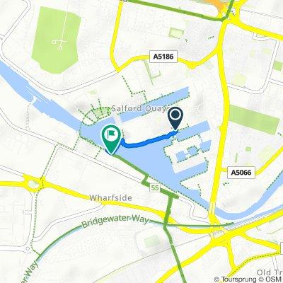 11 The Quayhouse, The Quays, Salford to Wharfside Promenade, Trafford Park, Manchester