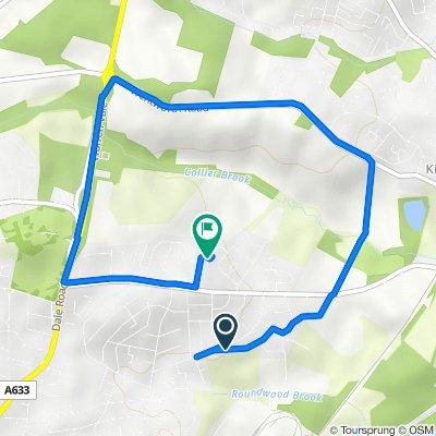 9 Thrybergh Hall Road, Rotherham to 3 Sandhill Close, Rotherham