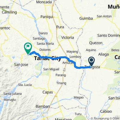 Unnamed Road, Zaragoza to TRP Pavilion, San Jose