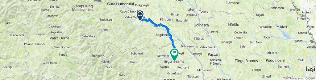 Unnamed Road, Pâraie to Strada Mihai Viteazu 7, Târgu Neamț