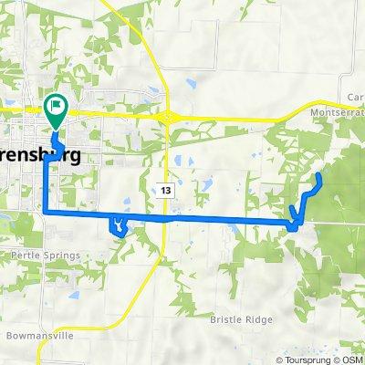 507 Streck Ln, Warrensburg to 507 Streck Ln, Warrensburg