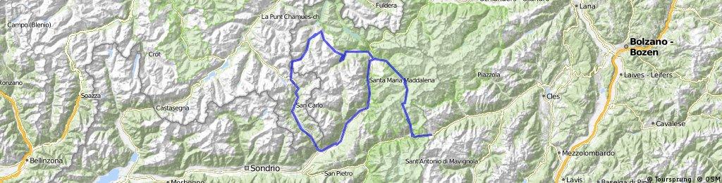Giro d'Italia 2010 > Bormio > Tirano Forcola di Livigno > Livigno > Bormio > Passo Gavia > Passo del Tonale