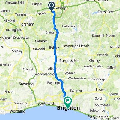 8 Sorrel Close, Crawley to 250 Kings Road Arches, Brighton