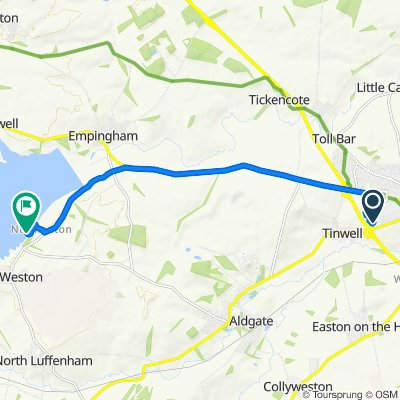 Route from 10 Goody Rudkin Close, Stamford