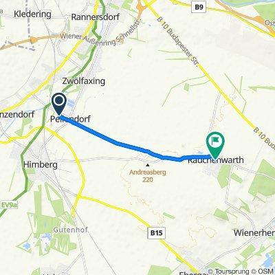 Leonhardgasse 21/1, Pellendorf nach Kirchenplatz 2, Rauchenwarth