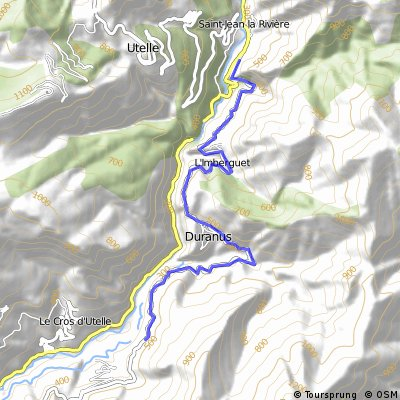 Cycling the Alps Cote de Duranus (522m)