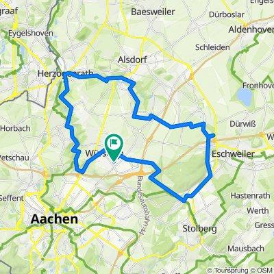 Würselen , Wurmtal, Herzogenrath, Hochwald, Würselen