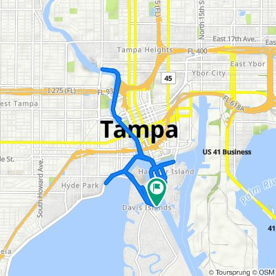 97 Columbia Dr, Tampa to 97 Columbia Dr, Tampa