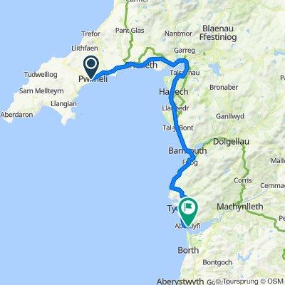 Wales Coast Leg 3 - Pwllheli - Aberdovey