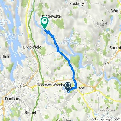 Castle Hill Road 76, Newtown to Bridgewater