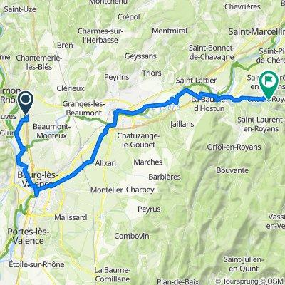 Chemin des Sarments 35, Mercurol-Veaunes to Grande Rue 5, Pont-en-Royans