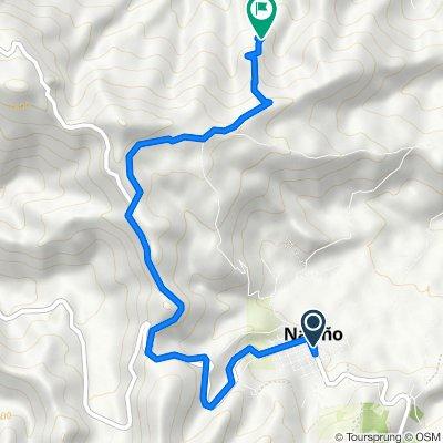 Ruta desde Carrera 5 3-62, Narino