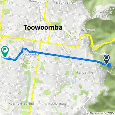Tobruk Memorial Drive, Rangeville to Harms Street 4, Harristown