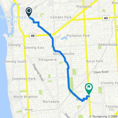 1 Mattner Avenue, Glenelg North to 849 Marion Road, Mitchell Park