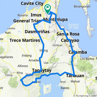 laguna-tanuan-talisay-sampaloc-tagaytay-aguinaldo-loop