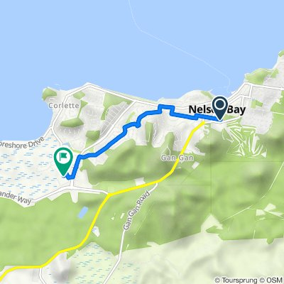 1 Tomaree Street, Nelson Bay to 2 Town Centre Circuit, Salamander Bay