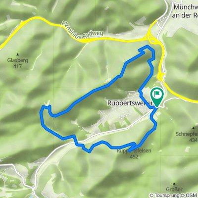 Arius-Tour in Ruppertsweiler