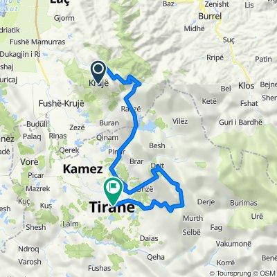 Kruja - Dajti mägi - Tirana
