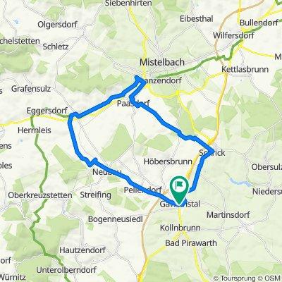 Gaweinstal - Neubau - Ladendorf - Paasdorf - Schrick - Gaweinstal -