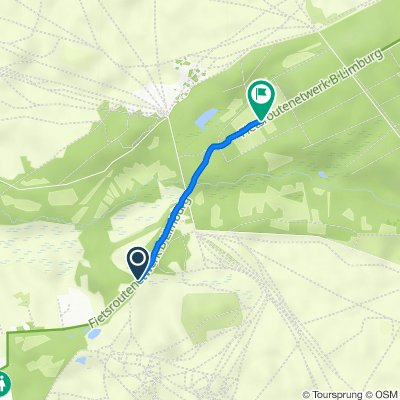 Route naar Weg naar Koersel, Hechtel-Eksel