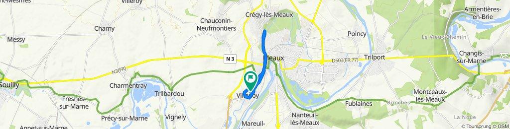 De 18 Rue du Général de Gaulle, Villenoy à 18 Rue du Général de Gaulle, Villenoy