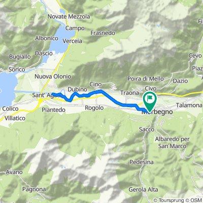 Da Via Nazionale 101, Cosio Valtellino a Via Nazionale 101, Cosio Valtellino