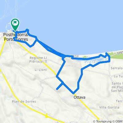 da Porto Torres a Platamona e ritorno con deviazione monte d'accoddi