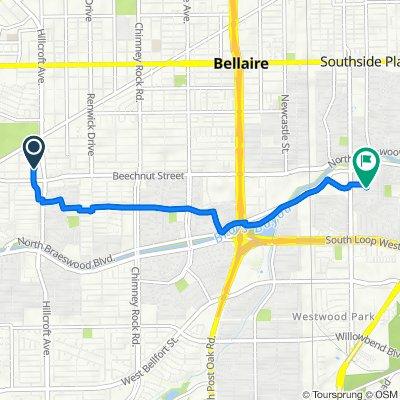 8211 Dunlap St, Houston to 3803 Linkwood Dr, Houston
