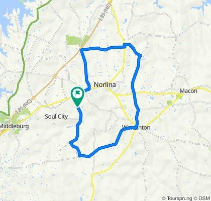 Axtell Ridgeway Road 331, Norlina to Axtell Ridgeway Road 331, Norlina