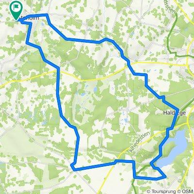 Ravnstrup-Hald Ege-Dollerup bakker-Grønhøj