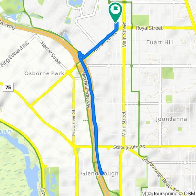 189 Edward Street, Osborne Park to 189 Edward Street, Osborne Park