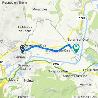 De 11 Rue Fillion, Persan à Chemin Vicinal, Boran-sur-Oise