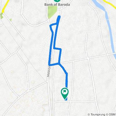 49, Gayatri Marg, Hasan Vadi Society, Rajkot to 49, Gayatri Marg, Hasan Vadi Society, Rajkot
