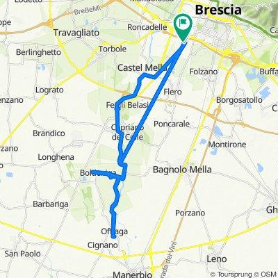 Da Via Labirinto, Brescia a Via Labirinto 220, Brescia