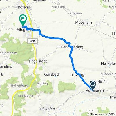 Im Tal 2, Aufhausen nach Köferinger Weg 12–14, Alteglofsheim
