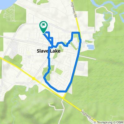 303 6 Ave NW, Slave Lake to 305 6 Ave NW, Slave Lake