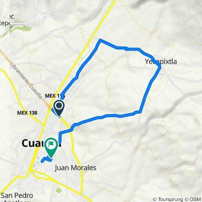 De Libramiento de Cuautla, Cuautla a Calle Otilio Montano 25, Cuautla