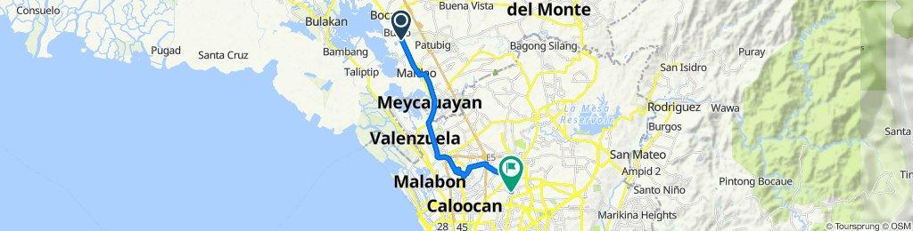 MacArthur Highway 2764, Bocaue to Shorthorn Street 48, Quezon City