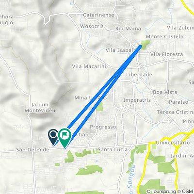 De Rua Mil Quinhentos e Noventa e Quatro, 105, Criciúma a Avenida Universitária, 4461–4593, Criciúma