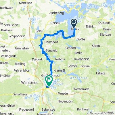 Tag 6 Radtour 2021  zweiter Abschnitt